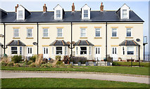 NZ4349 : Terraced housing above Seaham Harbour by Trevor Littlewood