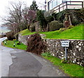 SO2219 : Turning Area - No Parking, Great Oak Road, Crickhowell by Jaggery