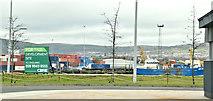J3575 : The Plater's Yard site, Titanic Quarter, Belfast - February 2019(2) by Albert Bridge