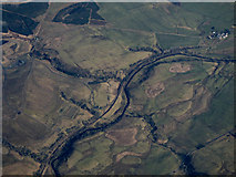 NS6913 : The River Nith from the air by Thomas Nugent