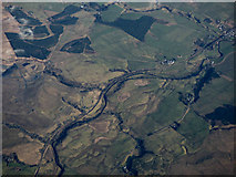 NS6912 : The River Nith from the air by Thomas Nugent