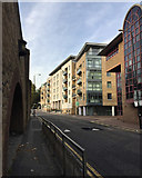 TQ3480 : North end of Wapping Lane by Robin Stott