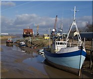 TA0623 : Boats at Barrow Haven by Paul Harrop