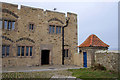 NU1341 : Lindisfarne Castle entrance by Ian Taylor