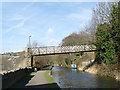 SE0523 : Footbridge over the Rochdale Canal, Sowerby Bridge by Stephen Craven