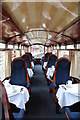 SH5738 : Interior of the Observation car - Glaslyn by Richard Hoare