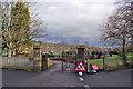 NH5459 : Entrance to Pefferside Park by Richard Dorrell
