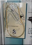 TQ0762 : Track circuit plan, Brooklands by Ann