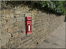 SE0424 : Postbox in the wall of Burley Road by Stephen Craven