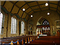 SE0426 : St Mary the Blessed Virgin, Luddenden - nave by Stephen Craven