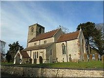SP4068 : Marton Church by AJD