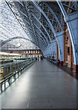 TQ3083 : Interior, St Pancras Railway Station by Rossographer