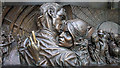 TQ3082 : Statue, St Pancras Railway Station by Rossographer