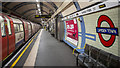 TQ2883 : Platform, Camden Town Station by Rossographer