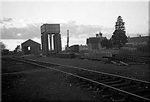 ST6389 : Thornbury Railway Station & goods yard by Martin Tester