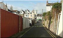 SX9265 : Back street, Babbacombe by Derek Harper