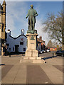 SD8010 : The Statue of Sir Robert Peel, Market Place, Bury by David Dixon