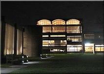 TL4359 : Dining Hall, Churchill College Cambridge by Jim Barton