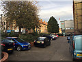 TQ3480 : Parking at Dellow House, Shadwell by Robin Stott