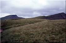 SO0121 : Pen-y-Fan from the Gap Road by Martin Richard Phelan
