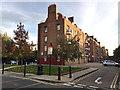 TQ3580 : Five-storey flats, Sage Street, Shadwell by Robin Stott