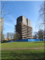 TM0223 : Tower block at the University of Essex by Gareth James