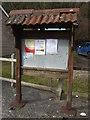 ST6249 : Jubilee notice board by Neil Owen