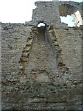 SO2980 : Fireplace at Clun Castle (Keep) by Fabian Musto