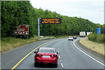 N8517 : VMS on the M7 near Newbridge by David Dixon