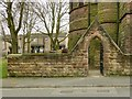 SK3435 : Gateway to St Luke's Churchyard, California, Derby by Alan Murray-Rust