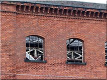 SK3436 : Former Great Northern Railway warehouse by Alan Murray-Rust
