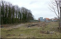 SK3436 : Remains of Friargate Station, Derby by Alan Murray-Rust