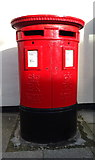 NZ6025 : Double Elizabeth II postbox on Cleveland Street, Redcar by JThomas