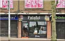 J3373 : Falafel coffee house, Botanic Avenue, Belfast (February 2019) by Albert Bridge