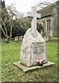 TL9874 : St Peter, Hepworth - War Memorial WWI by John Salmon
