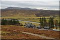 NC8011 : Balnacoil Lodge, Strath Brora, Sutherland by Andrew Tryon