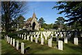 SP1954 : Commonwealth war graves by Philip Halling