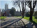 SO8218 : St Mary's Square and Gloucester Cathedral by Philip Halling