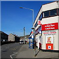 SO0702 : New location for the village post office, Troedyrhiw by Jaggery