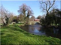 SO3958 : Bridge over the Arrow, Pembridge by Richard Webb
