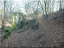 SE0726 : Halifax FP737 and the link path to the disused railway, Pellon by Humphrey Bolton