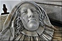 TM3973 : Bramfield, St. Andrew's Church: Arthur and Elizabeth Coke memorial by Nicholas Stone 6 by Michael Garlick