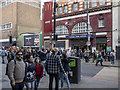 TQ2883 : Camden Town Station, London by Rossographer