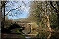 SE0325 : Approaching Bridge No. 7 on the Rochdale Canal by Chris Heaton