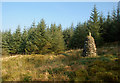 NX3091 : At James McTaggart's Cairn by Mary and Angus Hogg