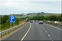 S8098 : M9 Motorway, north of Crookstown by David Dixon