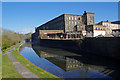 SD8436 : Brierfield Mill, Leeds & Liverpool Canal by Ian Taylor