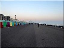 TQ2904 : King's Esplanade, Hove by Simon Carey