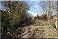 SE4416 : Former railway line, Ackworth Moor Top by Ian S