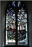 TM5286 : Kessingland, St. Edmund's Church: South window by Nicola Kantorowicz dedicated 22/8/2007  1 by Michael Garlick